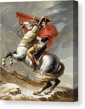 French Leaders Canvas Prints