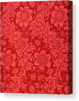 Patterned Drawings Canvas Prints