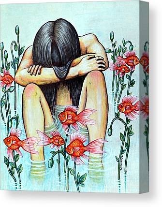 Psychological Defects Canvas Prints