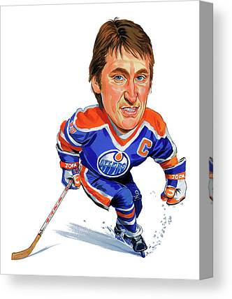 Wayne Gretzky Canvas Prints