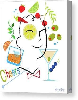 Cheers Canvas Prints