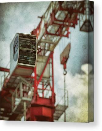 Tower Crane Canvas Prints