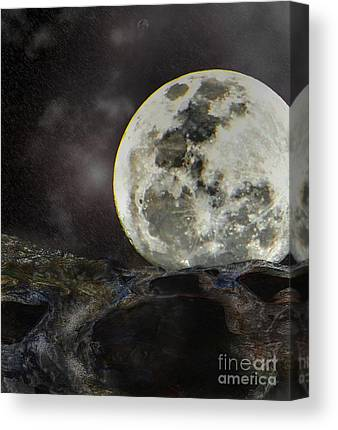 Wandering Star Mixed Media Canvas Prints