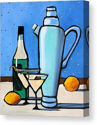 Martini Canvas Prints