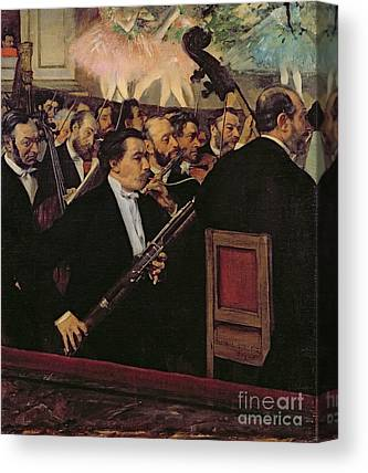 The Opera Orchestra Canvas Prints