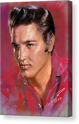 Presley Canvas Prints