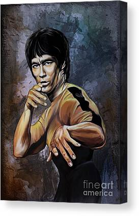 Lee Canvas Prints