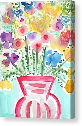 Cut Flowers Canvas Prints