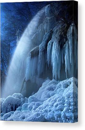 Icicles Canvas Prints
