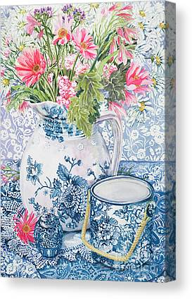 African Daisy Canvas Prints