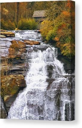 Little River Canvas Prints