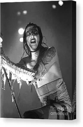 Marilyn Manson Canvas Prints
