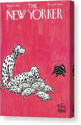 Dalmations Canvas Prints