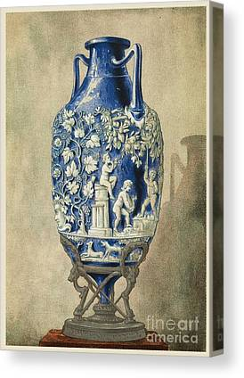 Roman Relic Glass Canvas Prints