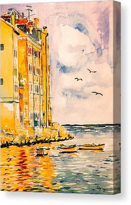 Rovinj Canvas Prints