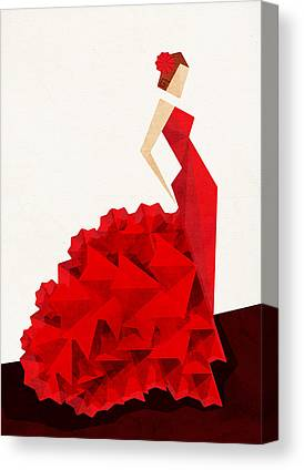 Dresses Canvas Prints