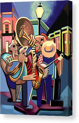 New Orleans Art Canvas Prints
