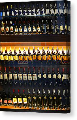 Wine Vault Canvas Prints