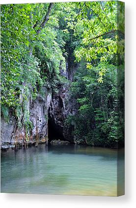 Barton Creek Cave Canvas Prints