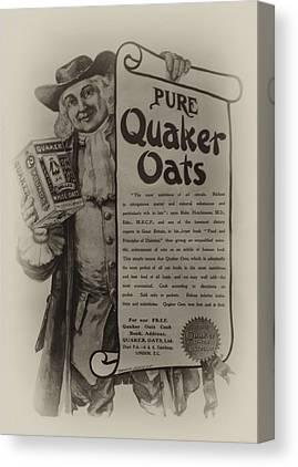 Quaker Oates Canvas Prints