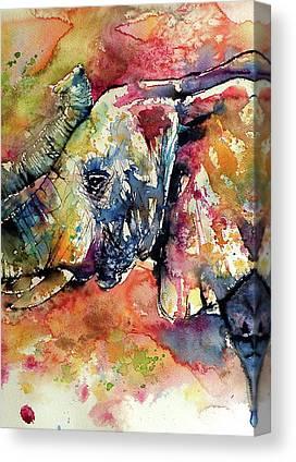 Elephant Canvas Prints