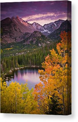 Reserve Canvas Prints