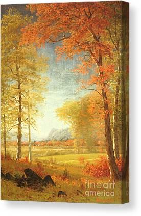 Upstate New York Canvas Prints