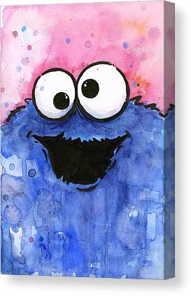 Cookie Canvas Prints