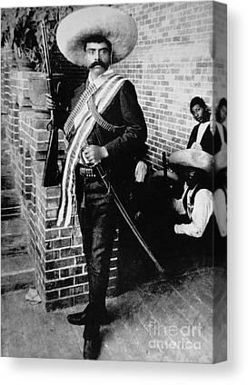 Emiliano Zapata Canvas Prints