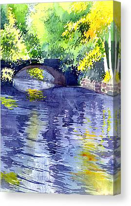 Outdoor Paintings Canvas Prints