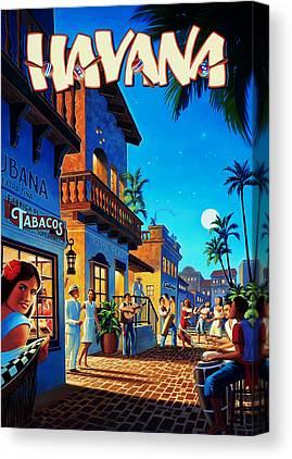 Havana Canvas Prints