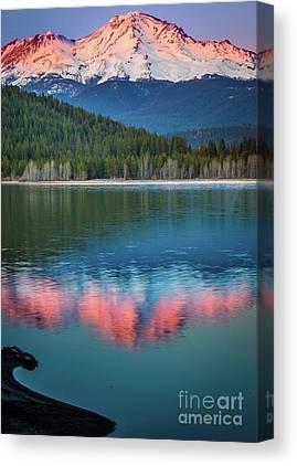 Lake Siskiyou Canvas Prints