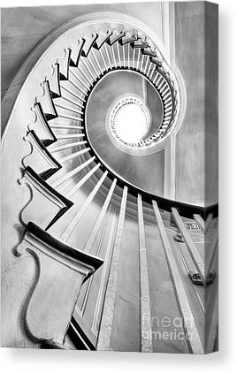 Spiral Staircase Canvas Prints