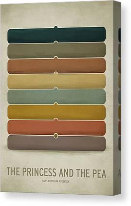 Colored Canvas Prints