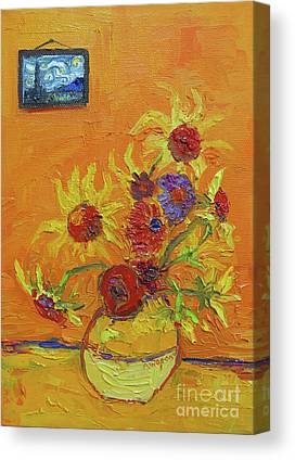 Inspired By Van Gogh Canvas Prints