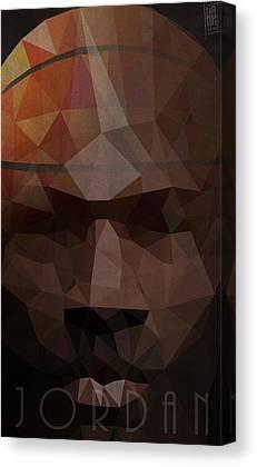 Nba Digital Art Canvas Prints