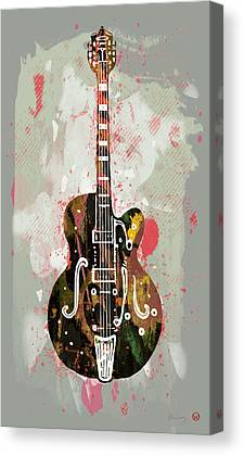 Electrical Mixed Media Canvas Prints