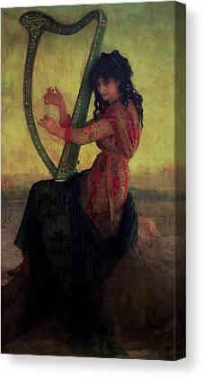 Terpsichore Canvas Prints