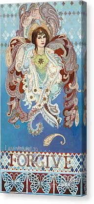 Seraphim Angel Mixed Media Canvas Prints