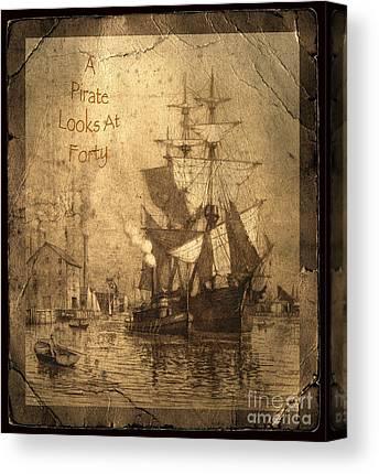 Historic Schooner Canvas Prints