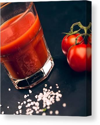 Cherry Tomato Canvas Prints