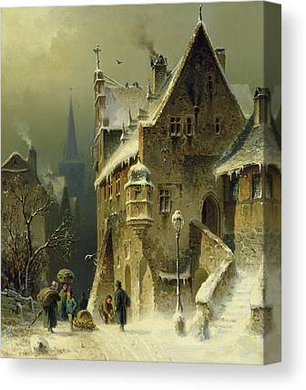 Cold Weather Canvas Prints