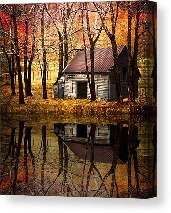 Barn In Tennessee Canvas Prints