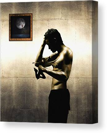 Male Digital Art Canvas Prints