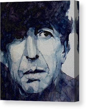 Leonard Cohen Canvas Prints