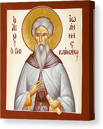 St John Climacus Canvas Prints