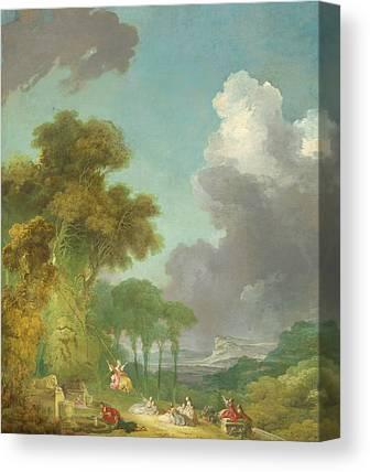 Rococo Art Canvas Prints