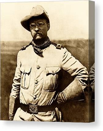 Theodore Roosevelt Canvas Prints