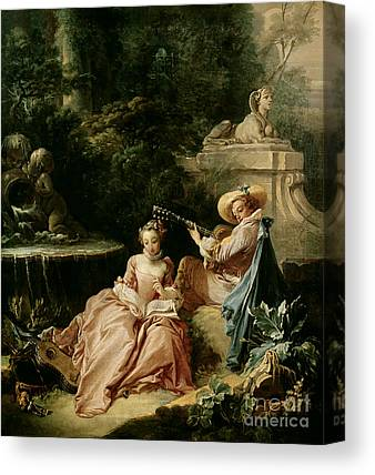 18th Century Paintings Canvas Prints