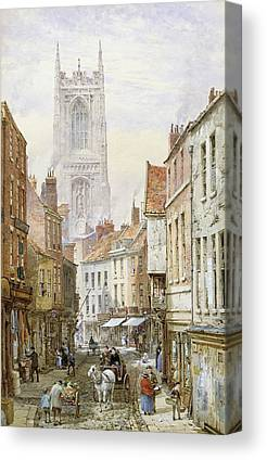 Derby Cathedral Canvas Prints